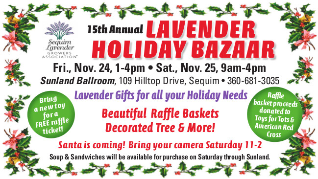 15th Annual Lavender Holiday Bazaar