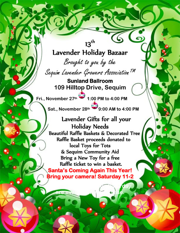 lavender holiday bazaar