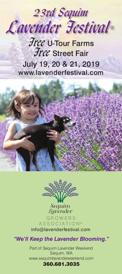 2019 Rack Card and Poster are Here! – Sequim Lavender Festival Ⓡ