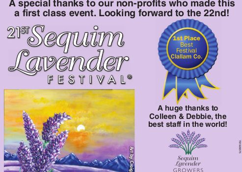 Voted Best Festival in Clallam County – 2017